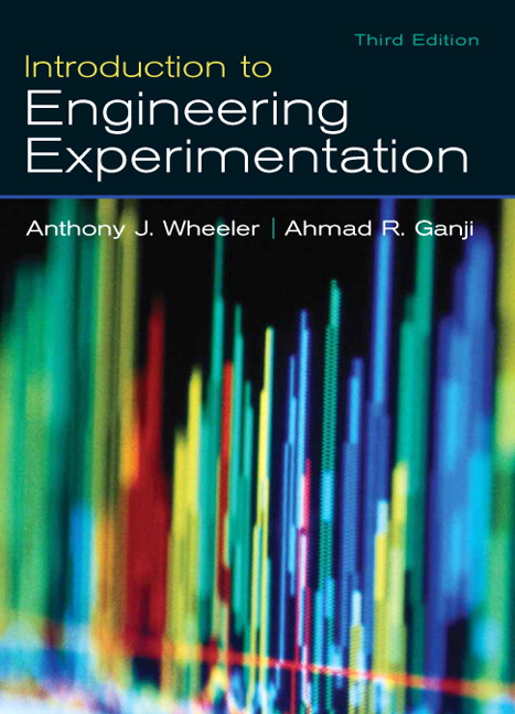 Solution Manual for Introduction to Engineering Experimentation 3rd Edition by Wheeler