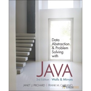 Solution Manual for Data Abstraction and Problem Solving with Java: Walls and Mirrors, 3/E 3rd Edition : 0132122308