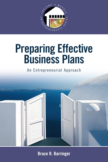 Solution Manual for Preparing Effective Business Plans: An Entrepreneurial Approach Bruce R. Barringer