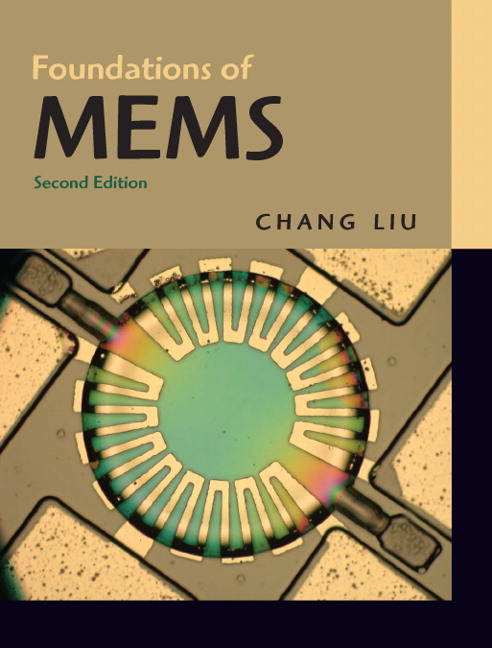 Solution Manual for Foundations of MEMS, 2/E 2nd Edition Chang Liu