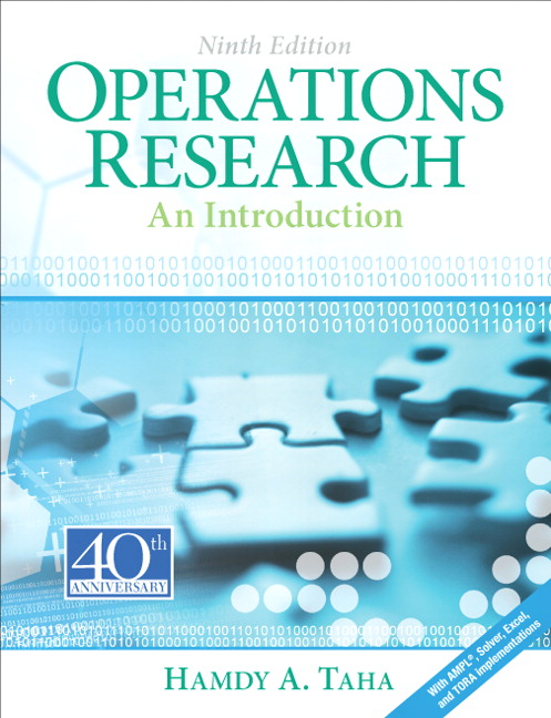 Solution Manual for Operations Research: An Introduction, 9/E 9th Edition Hamdy A. Taha