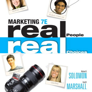 Test Bank for Marketing: Real People, Real Choices, 7/E7th Edition