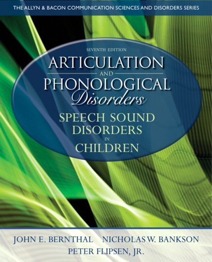 Test Bank for Articulation and Phonological Disorders: Speech Sound Disorders in Children, 7/E 7th Edition