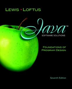 Test Bank for Java Software Solutions: Foundations of Program Design, 7/E 7th Edition John Lewis, William Loftus