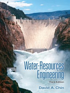 Solution Manual for Water-Resources Engineering, 3/E 3rd Edition David A. Chin