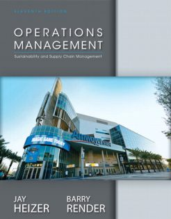 Test Bank for Operations Management, 11/E 11th Edition Jay Heizer, Barry Render