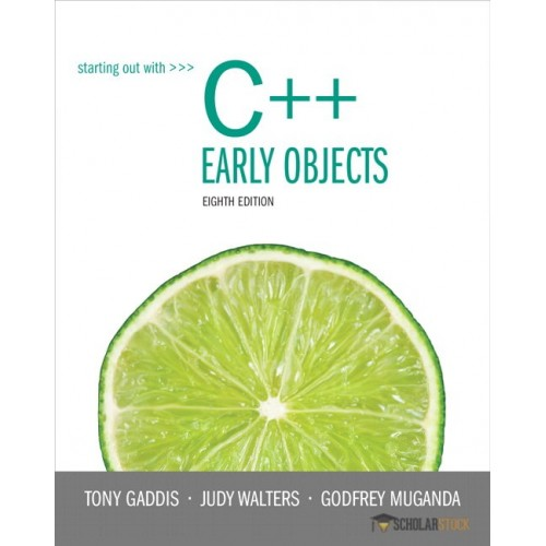 solution manual for starting out with c early objects 8 e 8th rh testbankteam com Engineering Solutions Manual Textbook Solution Manuals