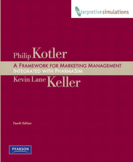 Solution Manual for Framework for Marketing Management: Integrated PharmaSim Simulation Experience and Interpretive Simulations Card Group B Package, 4/E 4th Edition