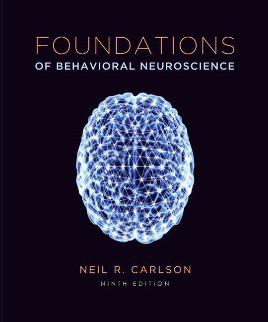 Test Bank for Foundations of Behavioral Neuroscience (paper) 9/E 9th Edition Neil R. Carlson