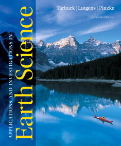 Solution Manual for Applications and Investigations in Earth Science, 7/E 7th Edition
