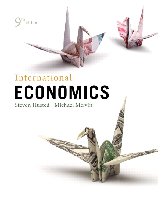 Test Bank for International Economics 9th Edition by Husted