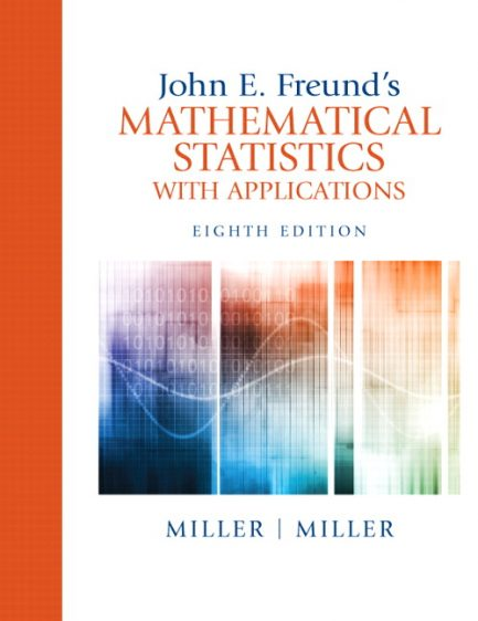Solution Manual for John E. Freund's Mathematical Statistics with Applications 8/e Miller, Miller