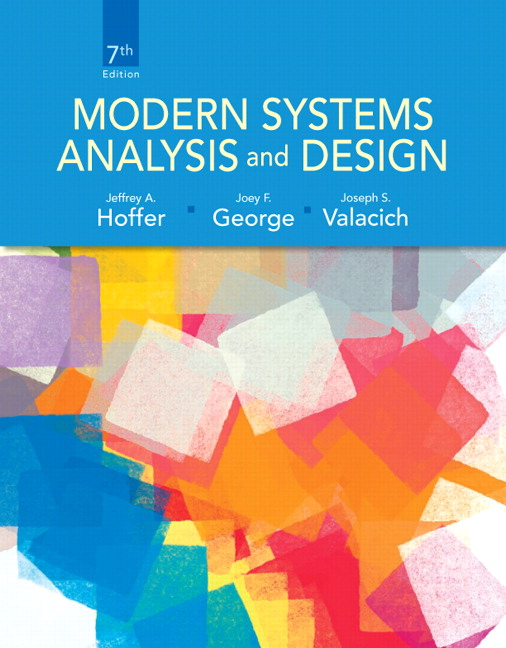 Test Bank for Modern Systems Analysis and Design, 7/E 7th Edition Jeffrey A. Hoffer, Joey George, Joe Valacich