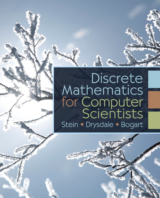 Solution Manual for Discrete Mathematics for Computer Scientists Cliff L Stein, Robert Drysdale, Kenneth Bogart