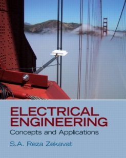 Solution Manual for Electrical Engineering: Concepts and Applications S.A. Reza Zekavat