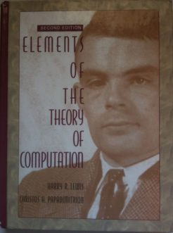 Solution Manual for Elements of the Theory of Computation, 2/E 2nd Edition Harry Lewis, Christos H. Papadimitriou