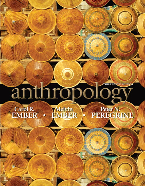 Test Bank for Anthropology 13th Edition by Ember