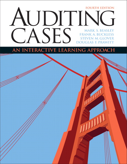 Solution Manual for Auditing Cases An Interactive Learning Approach 4th Edition by Beasley
