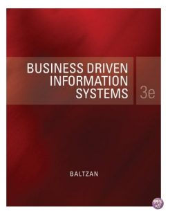 Solution Manual for Business Driven Information Systems 3rd Edition by Baltzan