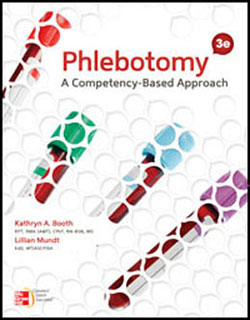 Test Bank for Phlebotomy A Competency Based Approach, 3rd Edition: Booth