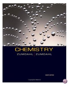 Test Bank for Chemistry 8th Edition by Zumdahl
