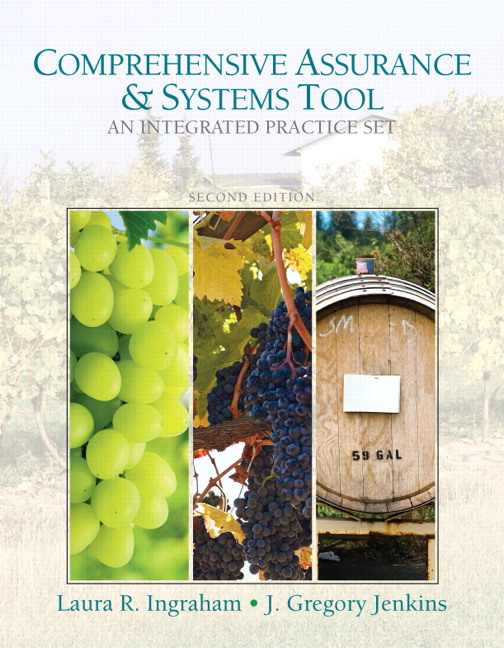 Solution Manual for Comprehensive Assurance and Systems Tool Integrated Practice Set 2nd Edition by Ingraham
