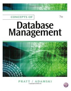 Solution Manual for Concepts of Database Management 7th Edition by Pratt