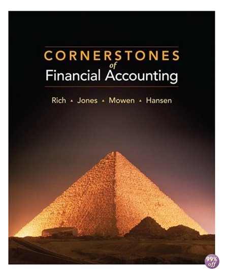 Solution Manual for Cornerstones of Financial Accounting 2nd Edition by Rich