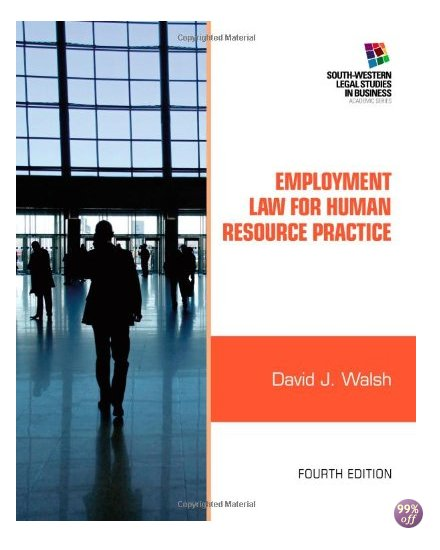 Test Bank for Employment Law for Human Resource Practice 4th Edition by Walsh