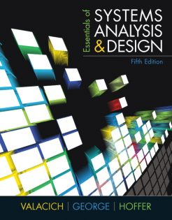 Test Banks for Essentials of Systems Analysis and Design 5th Edition by Valacich