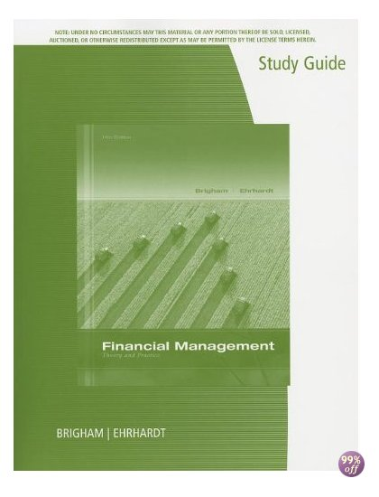 Test Bank for Financial Management Theory and Practice 14th Edition by Brigham