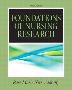 Test Bank for Foundations in Nursing Research 6th Edition by Nieswiadomy