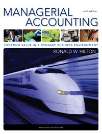 Solution Manual Managerial Accounting: Creating Value in a Dynamic Business Environment, 9/e Ronald W. Hilton