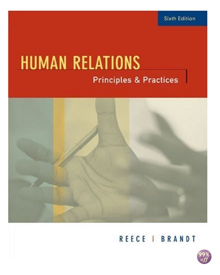 Test Bank for Human Relations Principles and Practices 7th Edition by Reece