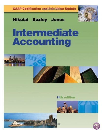 Solution Manual for Intermediate Accounting 11th Edition by Nikolai