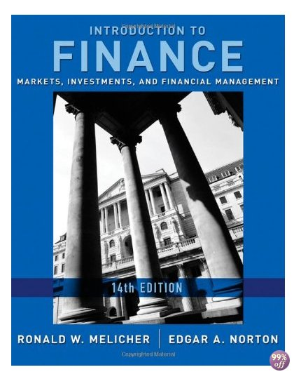 Solution Manual for Introduction to Finance Markets Investments and Financial Management 14th Edition by Melicher