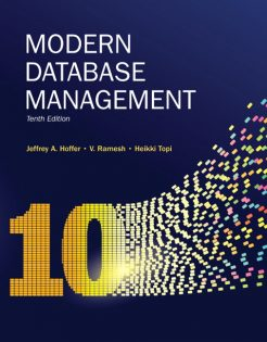 Test Bank for Modern Database Management 10th Edition by Hoffer
