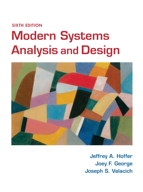 Test Bank for Modern Systems Analysis and Design 6th Edition by Hoffer