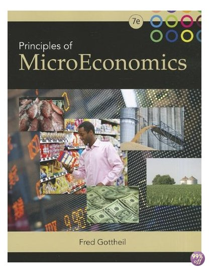 Test Bank for Principles of Microeconomics 6th Edition by Gottheil
