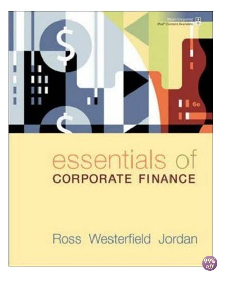 Test Bank for Essentials of Corporate Finance 7th Edition by Ross