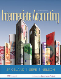 Test Bank for Intermediate Accounting 7 edition. David Spiceland, James F. Sepe, Mark W. Nelson
