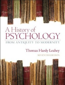 Test Bank for A History of Psychology From Antiquity to Modernity, 7th Edition : Leahey