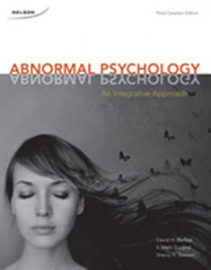 Test Bank for Abnormal Psychology An Integrative Approach, 3rd Canadian Edition: Barlow