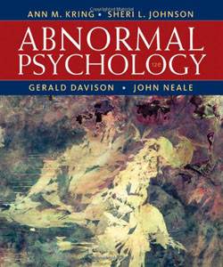 Test Bank For Abnormal Psychology, 12th Edition: Ann M. Kring