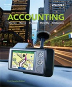 Test Bank for Accounting Principles, 1st Canadian Edition: Warren