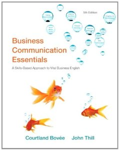 Test Bank for Business Communication Essentials, 5th Edition : Bovee