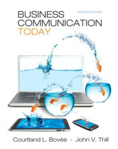 Test Bank for Business Communication Today, 11th Edition: Bovee