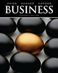 Test Bank for Business, 11th Edition: Pride