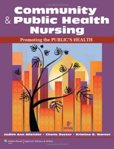 Test Bank For Community & Public Health Nursing: Promoting the Public's Health, Eighth North American Edition edition: Judith Al