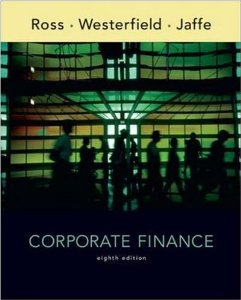 Test Bank for Corporate Finance, 8th Edition : Ross
